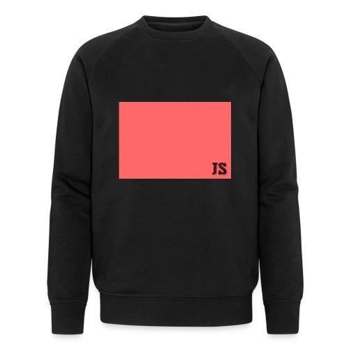 JustSquares Roze - Mannen bio sweatshirt van Stanley & Stella