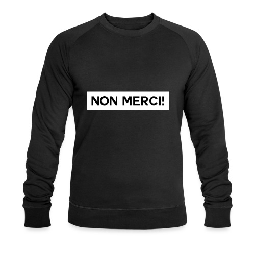 BASIC2 APPAREL BLACK EDITION - UNISEX / NON MERCI! - Sweat-shirt bio Stanley & Stella Homme