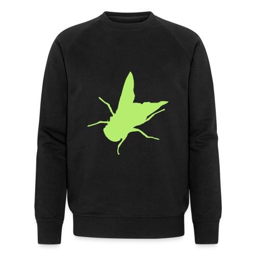 fliege - Männer Bio-Sweatshirt
