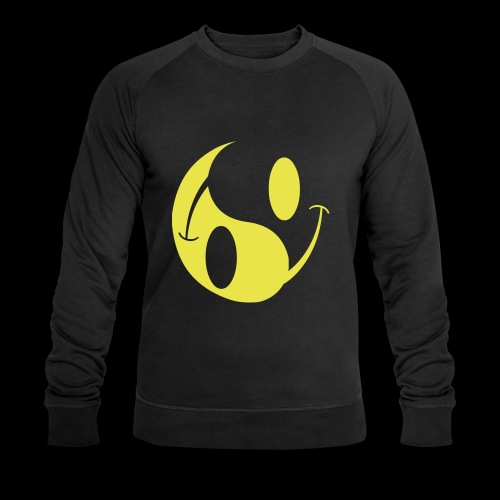 acid yin yang - Men's Organic Sweatshirt by Stanley & Stella