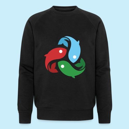 De fiskede fisk - Økologisk Stanley & Stella sweatshirt til herrer