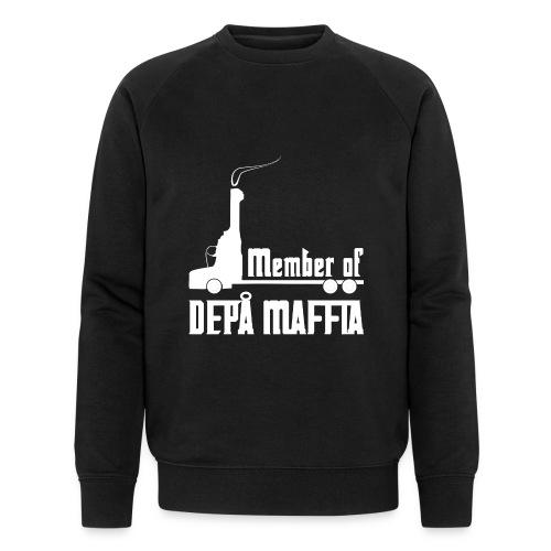 Depå Maffia vitt tryck - Ekologisk sweatshirt herr från Stanley & Stella