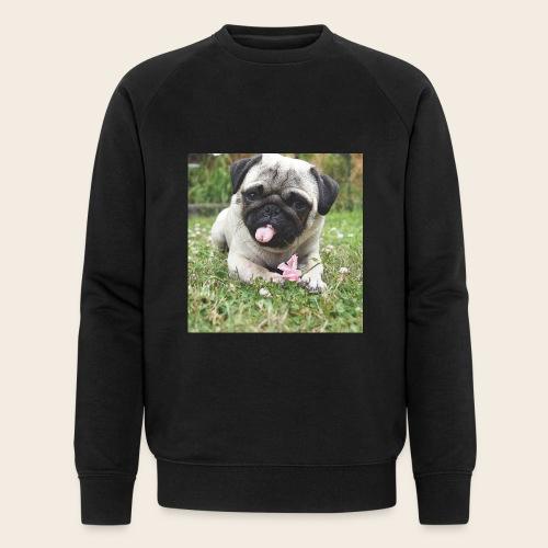 Mops Wiese - Männer Bio-Sweatshirt von Stanley & Stella