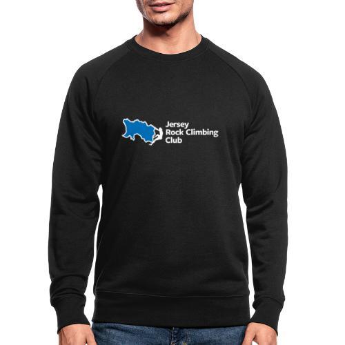 Club Logo - Inline [White] - Men's Organic Sweatshirt