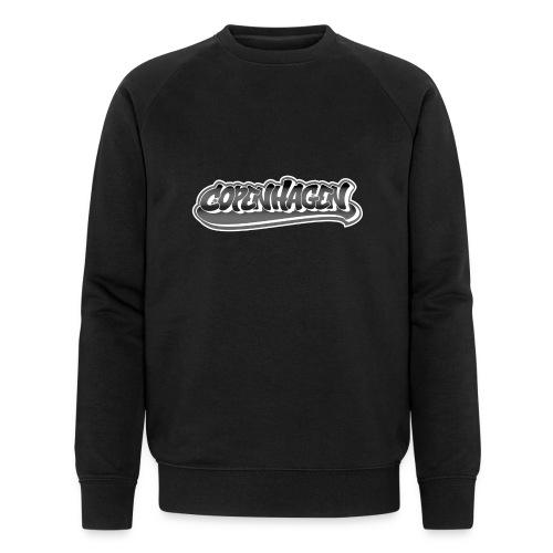 copenhagen graffiti style - Økologisk sweatshirt til herrer