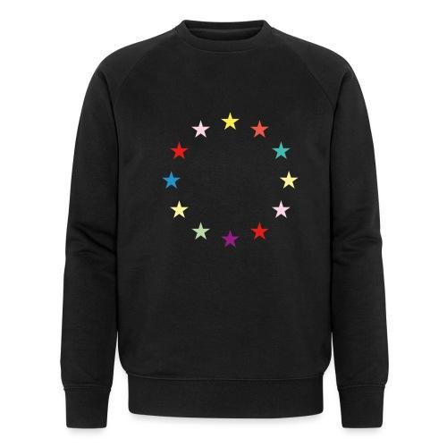 Sterne EU Jusos 2019 - Männer Bio-Sweatshirt von Stanley & Stella