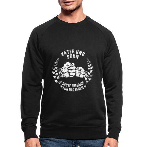 Vater und Sohn beste Freunde für das Leben - Männer Bio-Sweatshirt