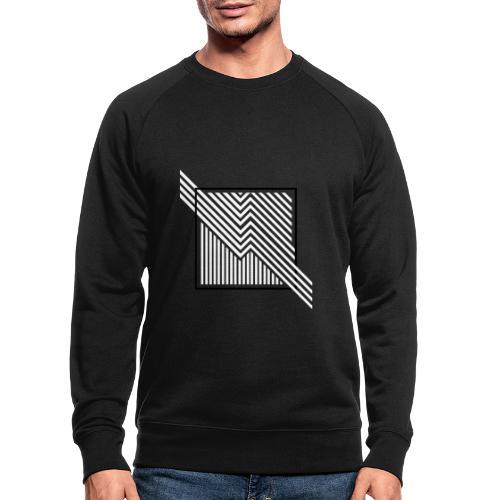 Lines in the dark - Men's Organic Sweatshirt