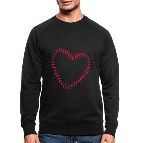 2581172 1029128891 Baseball Heart Of Seams - Men's Organic Sweatshirt