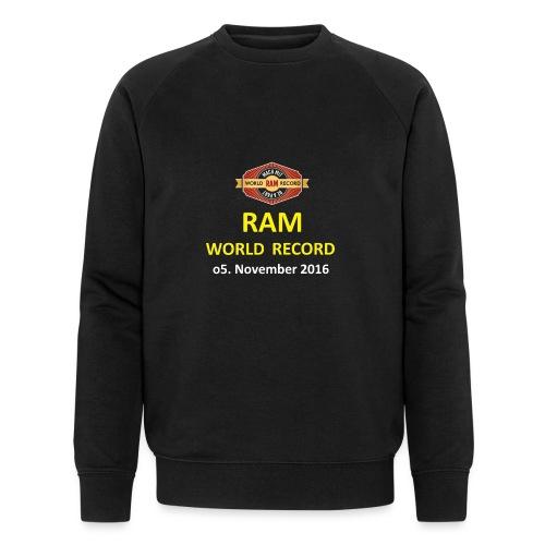 RWR gelb mit Datum (weiß) - Männer Bio-Sweatshirt von Stanley & Stella