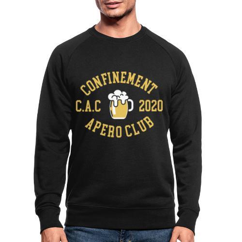 CONFINEMENT APERO CLUB - Sweat-shirt bio