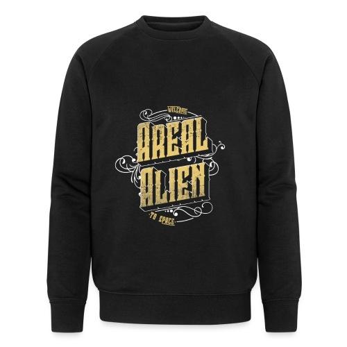 Areal Alien Vintage logo - Økologisk sweatshirt for menn fra Stanley & Stella