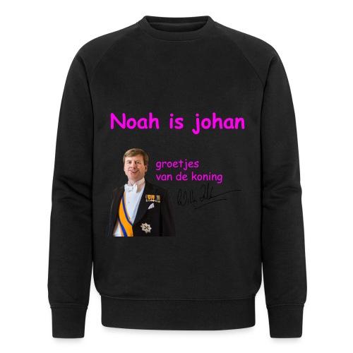 Noah is een echte Johan - Mannen bio sweatshirt van Stanley & Stella
