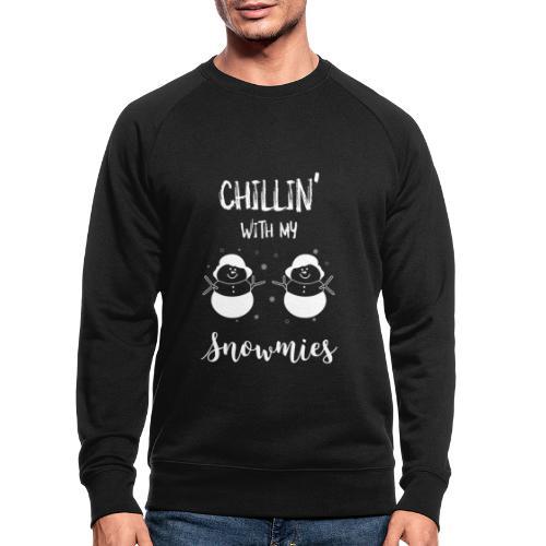 Morsom stygg julegenser - Økologisk sweatshirt for menn