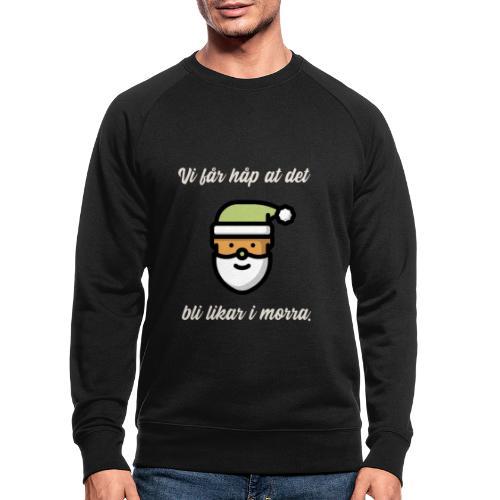 stygg julegenser - Økologisk sweatshirt for menn