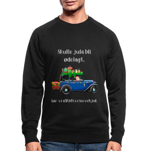 Morsomt julemotiv - Økologisk sweatshirt for menn