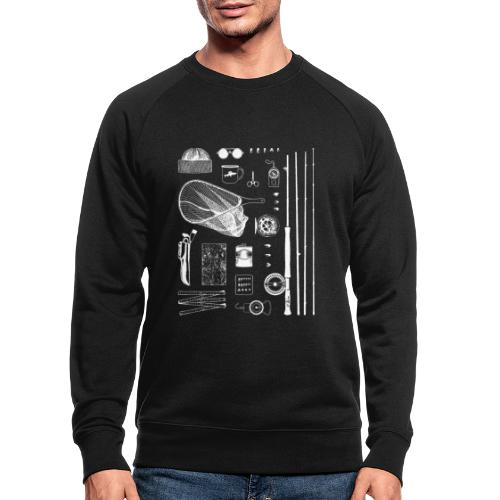Fly Fishing - Men's Organic Sweatshirt