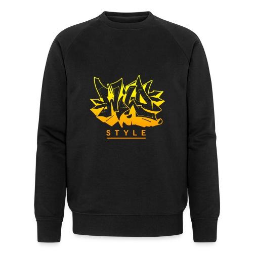 Wild Style Graffiti Design - Økologisk sweatshirt til herrer