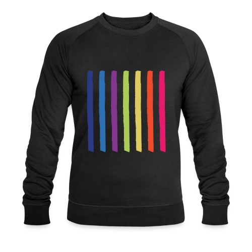Linjer - Økologisk Stanley & Stella sweatshirt til herrer