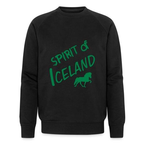 4gaits ruecken - Männer Bio-Sweatshirt