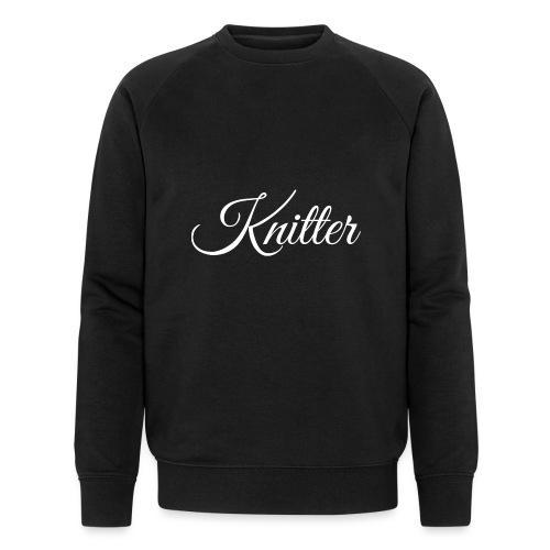 Knitter, white - Men's Organic Sweatshirt by Stanley & Stella