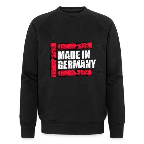 Silvester Feuerwerk Deutsche Knaller - Männer Bio-Sweatshirt von Stanley & Stella