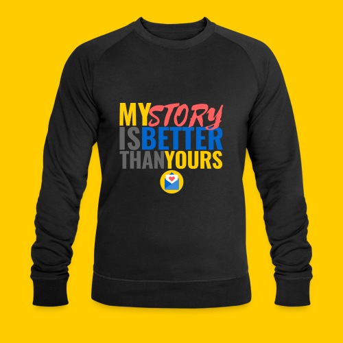 storybetter - Männer Bio-Sweatshirt