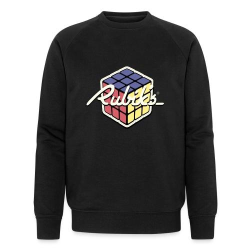 Rubik's Cube Retro Style - Men's Organic Sweatshirt by Stanley & Stella
