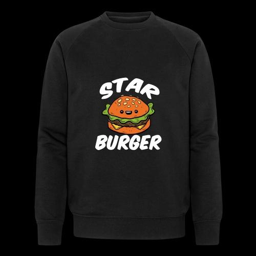 Star Burger Brand - Mannen bio sweatshirt van Stanley & Stella