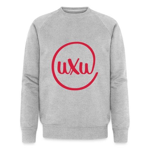 UXU logo round - Men's Organic Sweatshirt