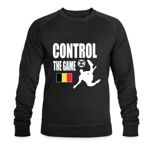 Control The Game Belgium - Mannen bio sweatshirt van Stanley & Stella