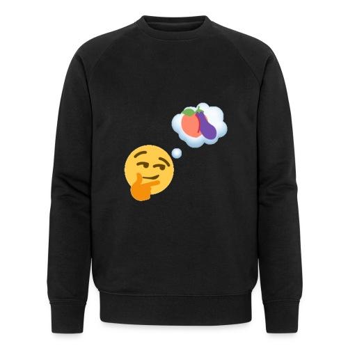 Johtaja98 Emoji - Miesten luomucollegepaita