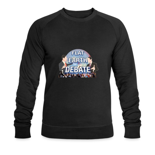 FLAT EARTH DEBATE - Men's Organic Sweatshirt by Stanley & Stella