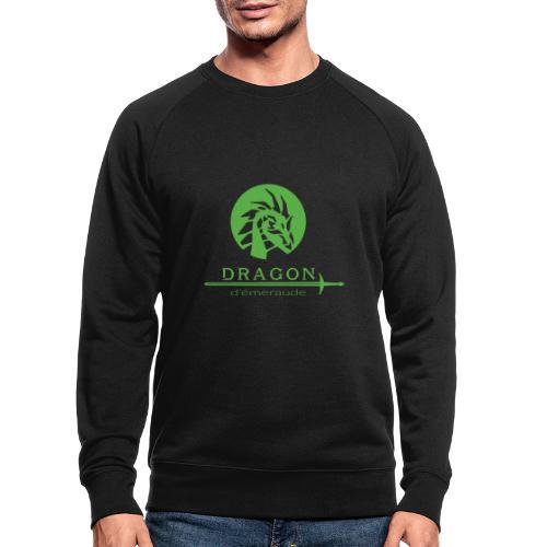 dragon d'émeraude vert - Sweat-shirt bio Stanley & Stella Homme