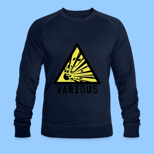 VariousExplosions Triangle (2 colour) - Men's Organic Sweatshirt by Stanley & Stella