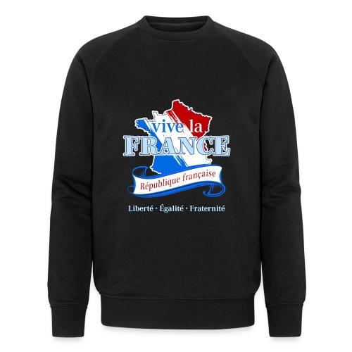 vive la France Frankreich République Française - Men's Organic Sweatshirt by Stanley & Stella