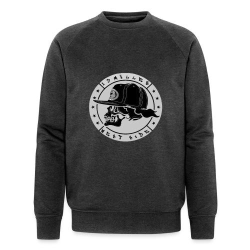 skull 13 milles noir et gris super design - Sweat-shirt bio Stanley & Stella Homme