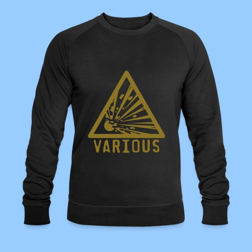 VariousExplosions Triangle (1colour) - Men's Organic Sweatshirt by Stanley & Stella