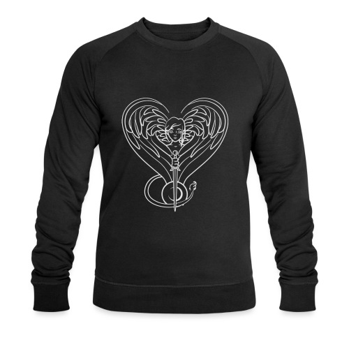 Sphinx valentine white - Men's Organic Sweatshirt