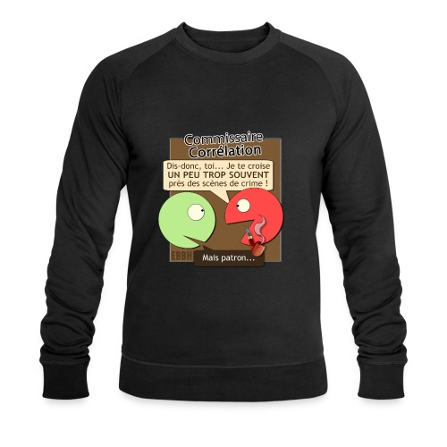 Commissaire Corrélation - Sweat-shirt bio