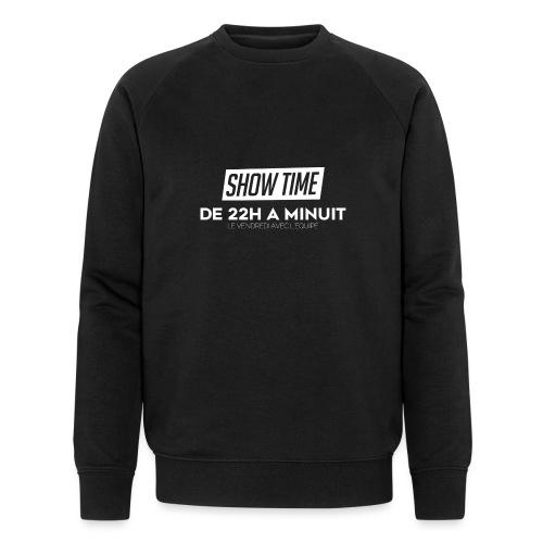 Logo ShowTime Blanc - Sweat-shirt bio Stanley & Stella Homme
