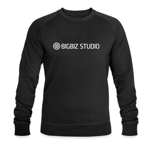 bigbiz-logo-official - Men's Organic Sweatshirt