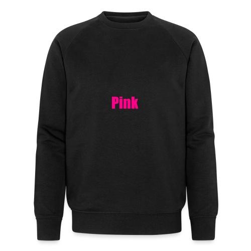 pink - Männer Bio-Sweatshirt
