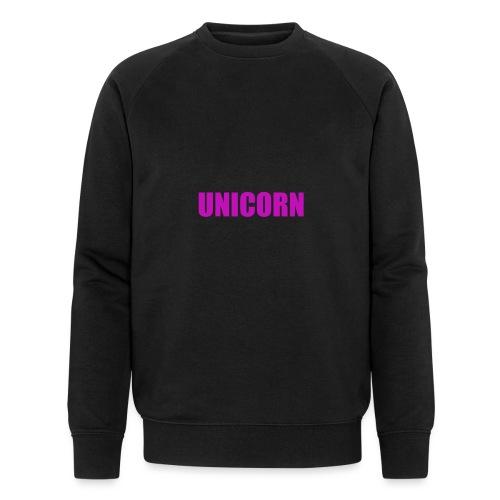 Unicorn - Männer Bio-Sweatshirt