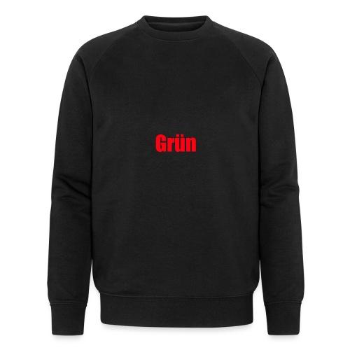 Grün - Männer Bio-Sweatshirt