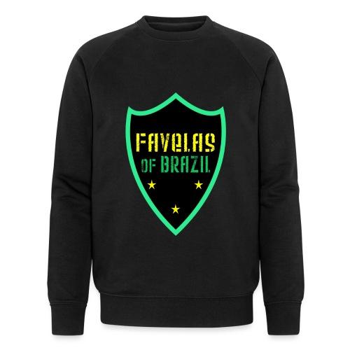 FAVELAS OF BRAZIL NOIR VERT DESIGN - Sweat-shirt bio