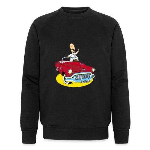 Herr Bohnemann im Buick - Männer Bio-Sweatshirt von Stanley & Stella
