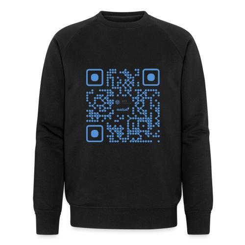 QR Maidsafe.net - Men's Organic Sweatshirt