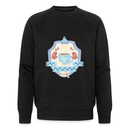 Hygge AF - Männer Bio-Sweatshirt