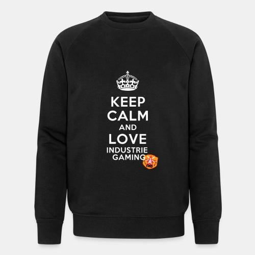 Keep Calm - Männer Bio-Sweatshirt